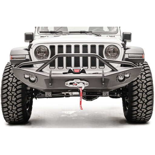 Fab Fours Jeep JL Lifestyle Winch Bumper - OffBeat Auto