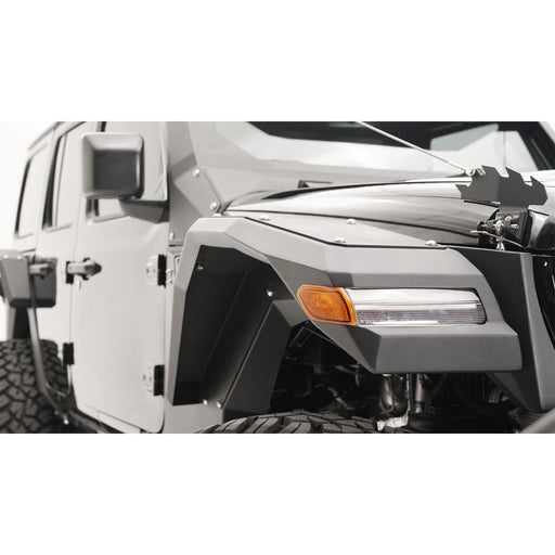 Fab Fours Jeep JL Light Fender System - OffBeat Auto