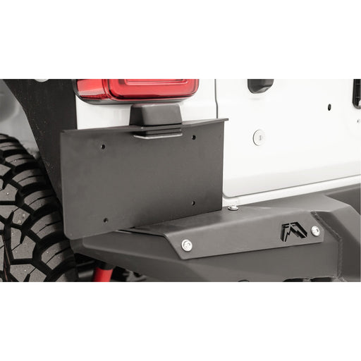 Fab Fours Jeep JL License Plate Bracket - OffBeat Auto