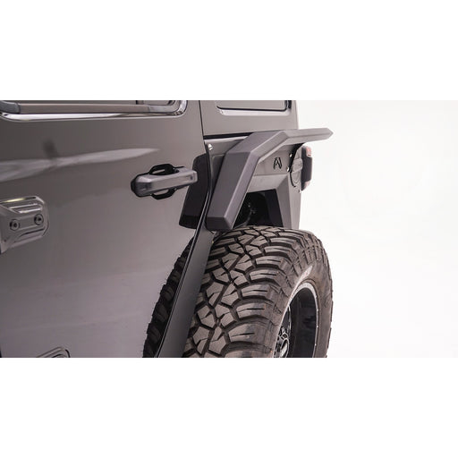 Fab Fours Jeep JL Modular Rear Fender System - OffBeat Auto