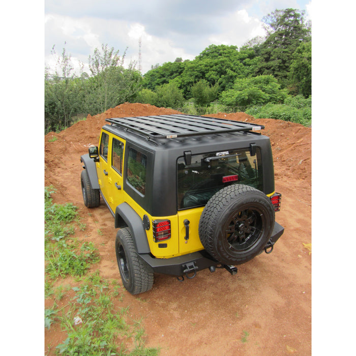 EEZI-AWN Jeep Wrangler JK K9 Roof Rack Kit - OffBeat Auto