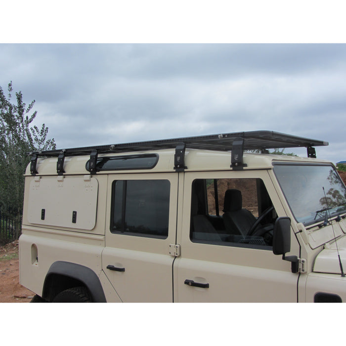 EEZI-AWN Land Rover Defender 110 K9 Roof Rack Kit - OffBeat Auto