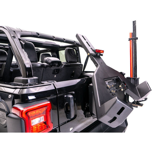 Fab Fours Jeep JL Slant Back Tire Carrier - OffBeat Auto