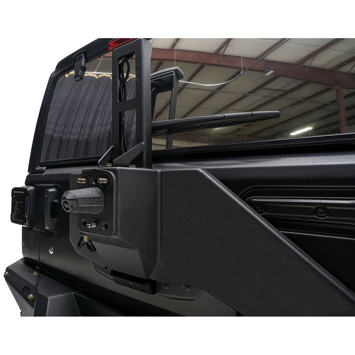 Fab Fours Jeep JL Tire Carrier - OffBeat Auto