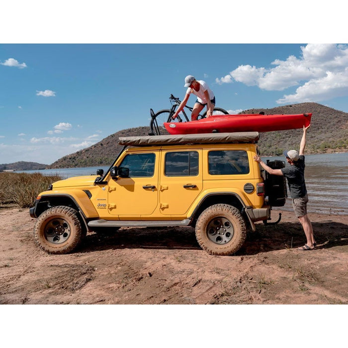 Jeep Wrangler JL 4 Door (2017-Current) Extreme Roof Rack Kit By Front Runner Outfitters - OffBeat Auto