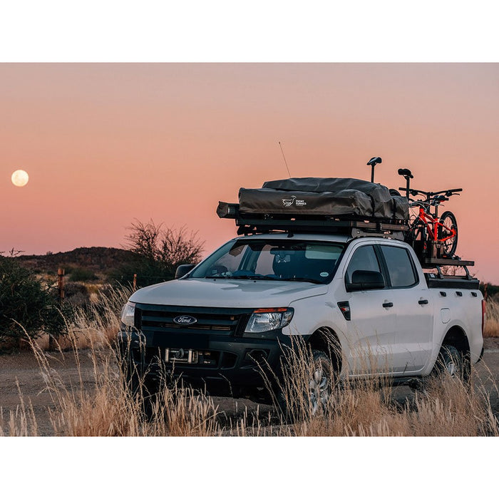 Ford Ranger T6 (2012-Current) Slimline II Roof Rack Kit By Front Runner Outfitters - OffBeat Auto