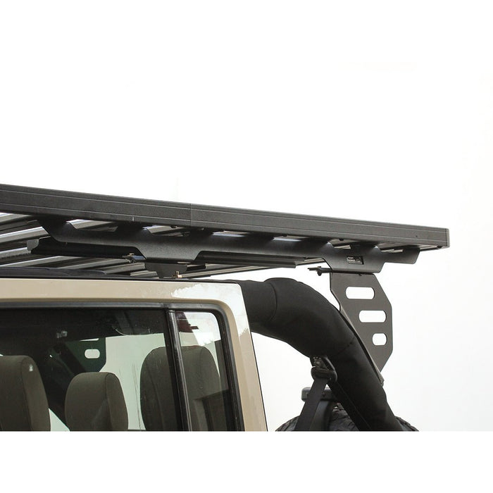 Jeep Wrangler JKU 4 Door (2007-2018) Extreme Roof Rack Kit By Front Runner Outfitters - OffBeat Auto