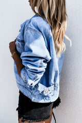 Wash Casual Denim Jacket