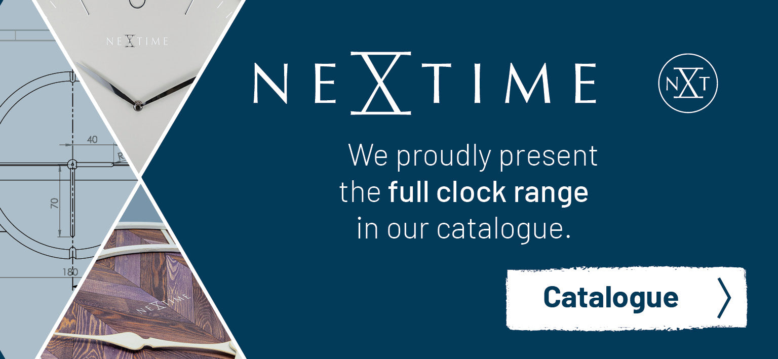 NeXtime clocks catalogue