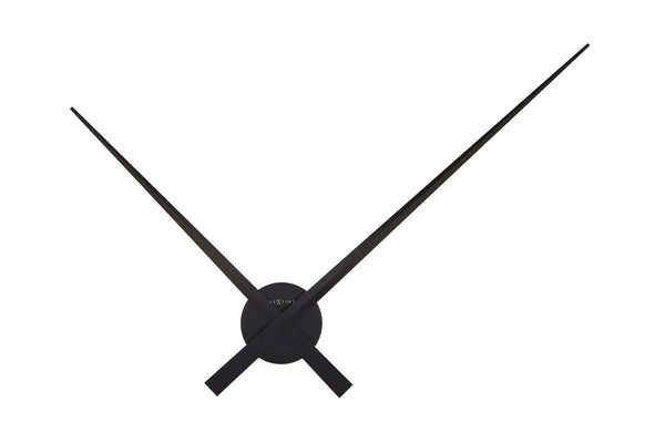 Front Picture 2269ZW,Hands,Wall clock,High Torque,Aluminium,Black,#color_black