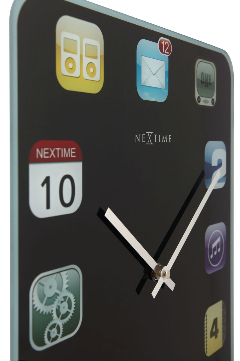detail 3022,Wall Pad,NeXtime,Glass,Black