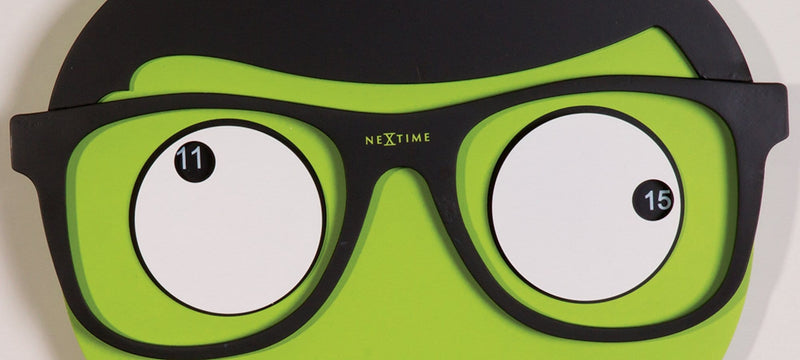 detail 3089,Mr. Mustache,NeXtime,Wood,Green