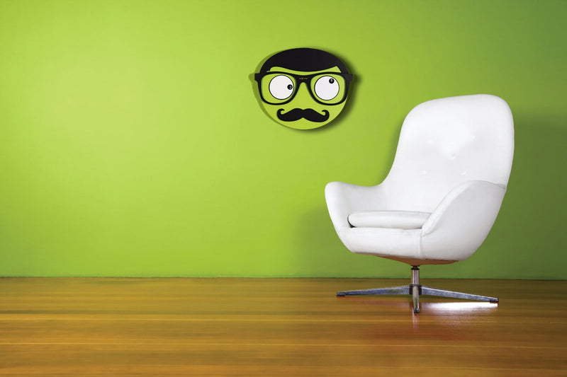 interior 3089,Mr. Mustache,NeXtime,Wood,Green