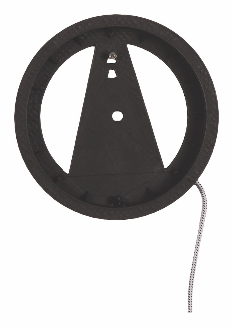 Front Picture 3094,Light It Up,Wall clock,NA,Plastic,Black