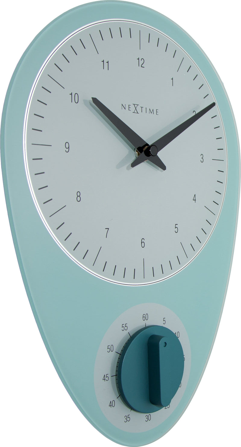 leftside 3097BL,Hans,NeXtime,Glass,Blue,