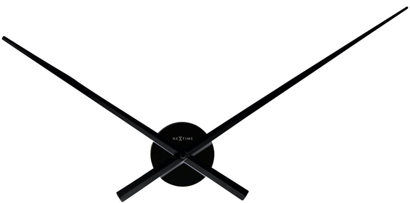 Front Picture 3118ZW,Hands,Wall clock,High Torque,Aluminium,Black,