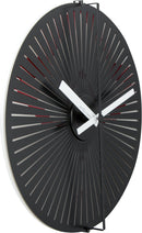 leftside 3128,Motion clock Star - Red/White,NeXtime,Aluminium,Red