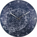 Front Picture 3165,Milky Way Dome,Wall clock,Silent,Glass,Blue