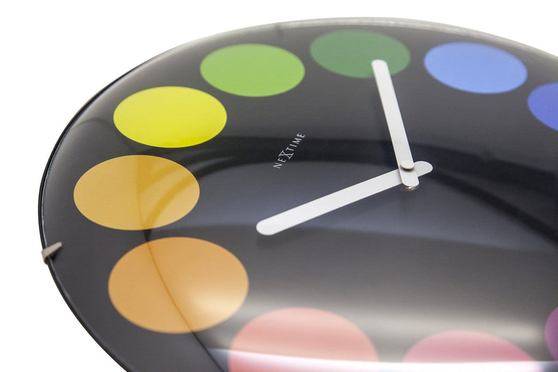 detail 3167,Dots Dome,NeXtime,Glass,Multicolor,