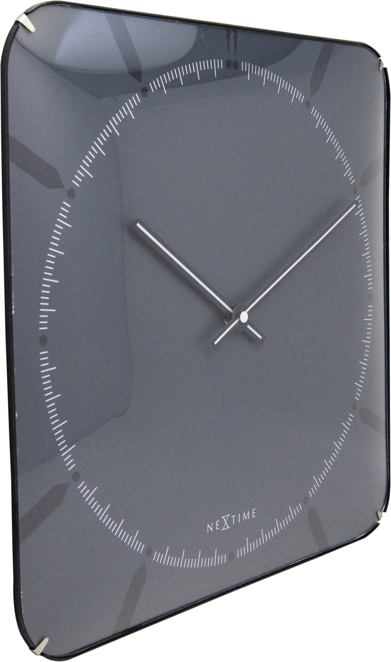 leftside 3173,Michael Square Dome,NeXtime,Glass,Grey,