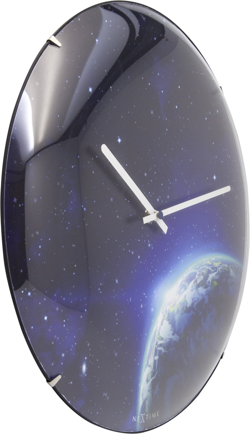leftside 3176,Globe Dome,NeXtime,Glass,Blue
