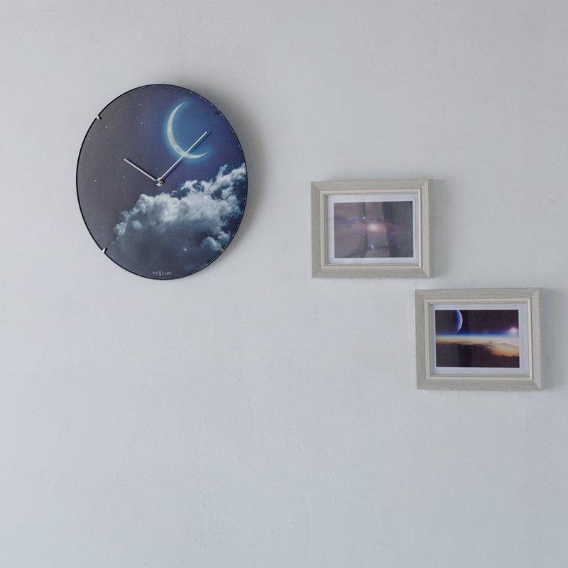 atmosphere 3177,New Moon Dome,NeXtime,Glass,Blue