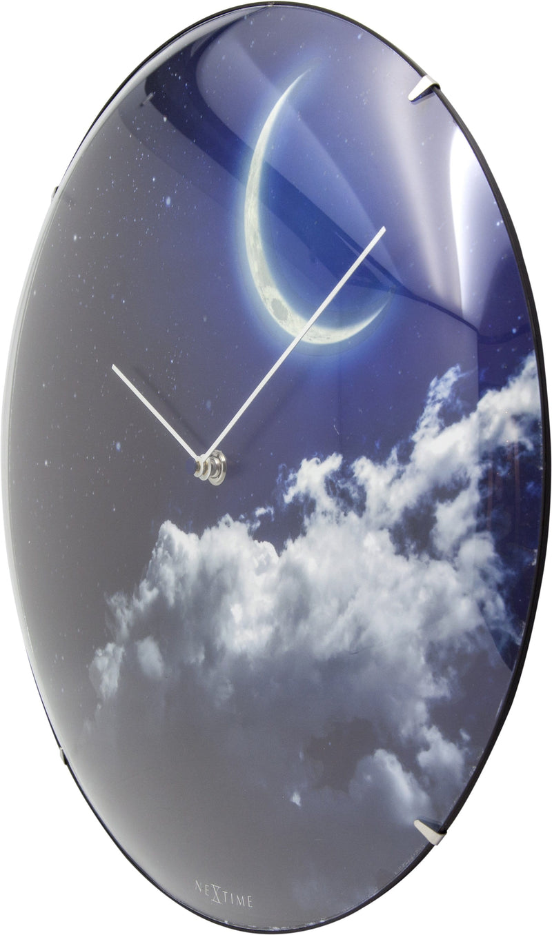 rightside 3177,New Moon Dome,NeXtime,Glass,Blue