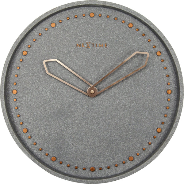 Front Picture 3197GS,Cross,Wall clock,Silent,Resin,Grey,#color_grey