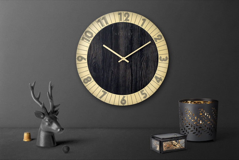 atmosphere 3198GO,Flare,NeXtime,Wood,Gold/Black