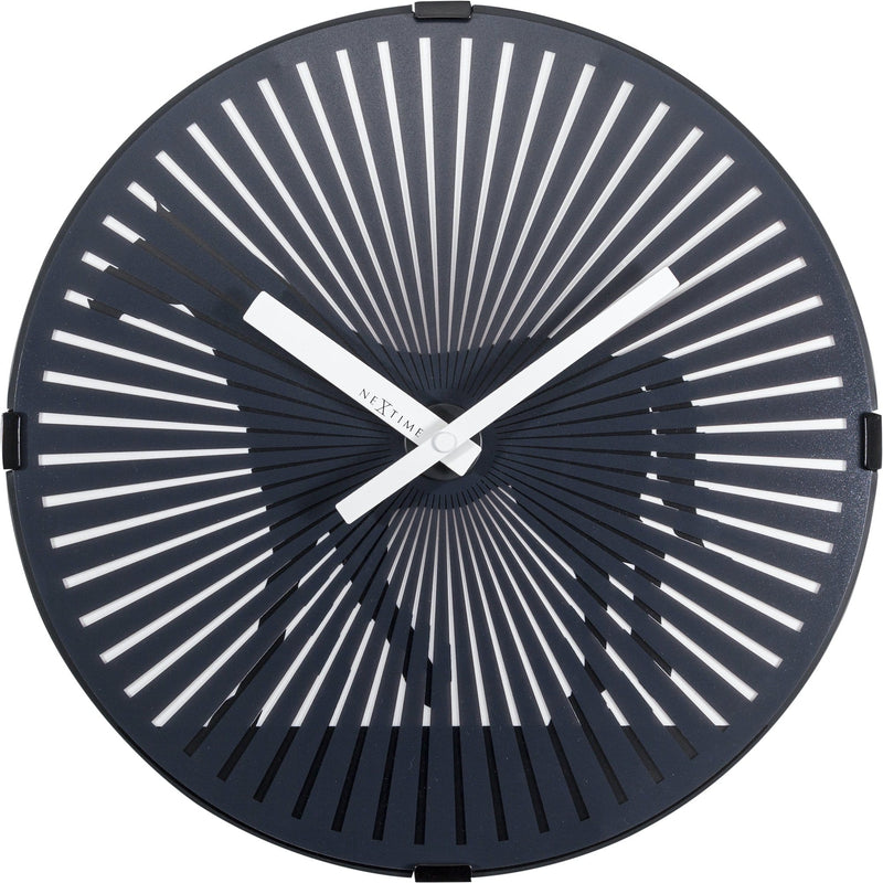 Front Picture 3218,Walking Horse,Wall clock,High Torque,Plastic,Black