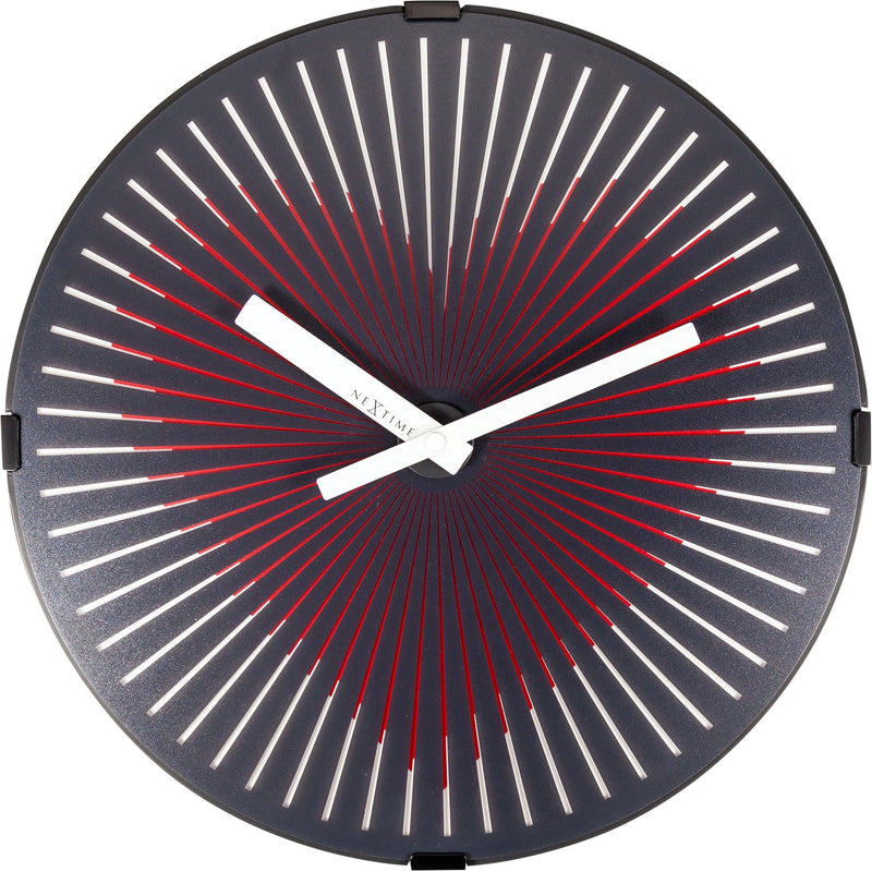 Front Picture 3221,Motion Heart - Red,Wall clock,High Torque,Plastic,Red