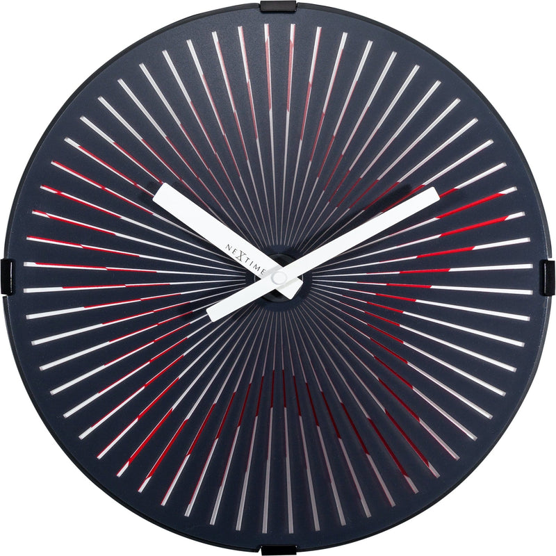 Front Picture 3223,Motion Star - Red,Wall clock,High Torque,Plastic,Red