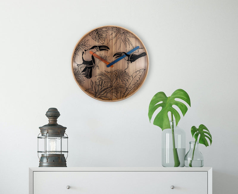 atmosphere 3230,Tropical Birds,NeXtime,Wood,Wood