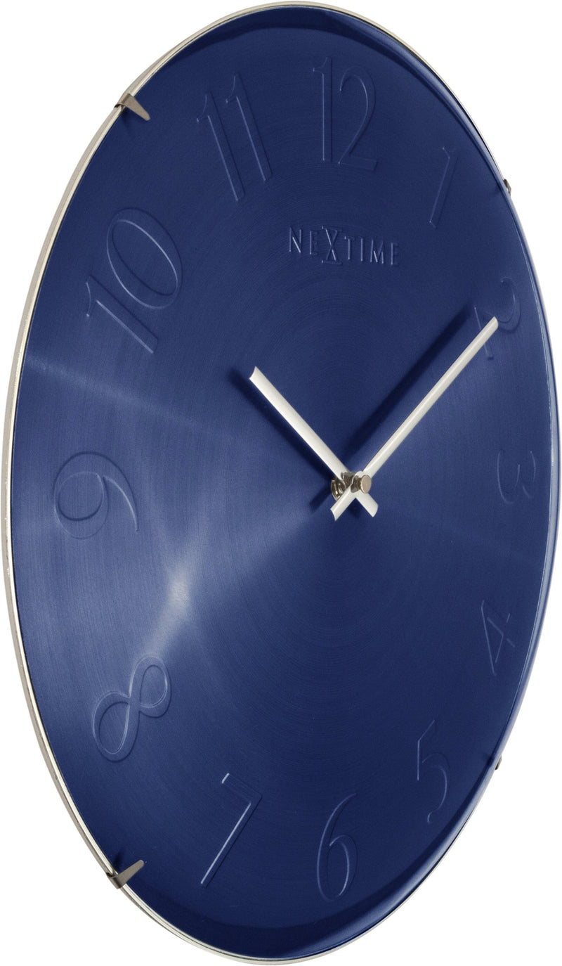 leftside 3236BL,Elegant Dome,NeXtime,Glass,Blue