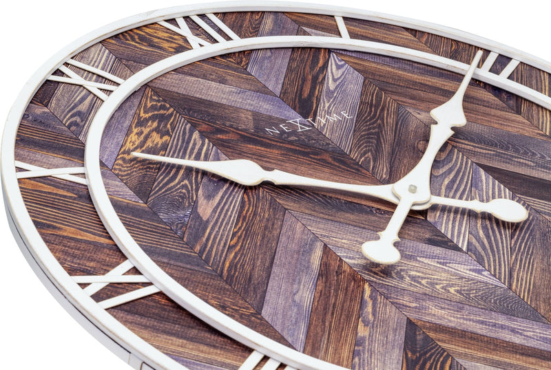 detail 3245BR,Roman Vintage,NeXtime,Wood,Brown