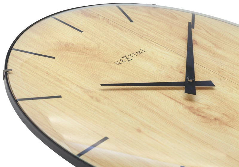 detail 3249,Edge Wood Dome,NeXtime,Glass,Light Brown,
