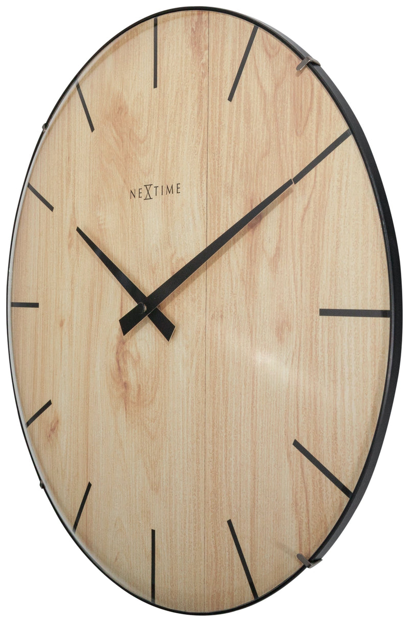 rightside 3249,Edge Wood Dome,NeXtime,Glass,Light Brown,