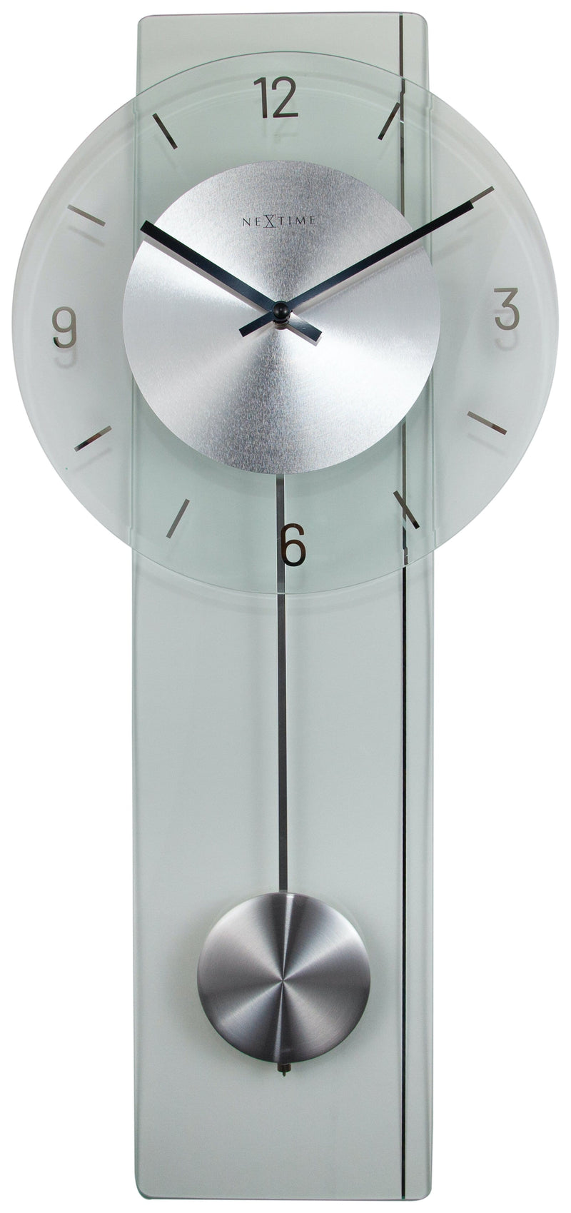 Front Picture 3251,Eleanor,Wall clock,Glass,Transparent