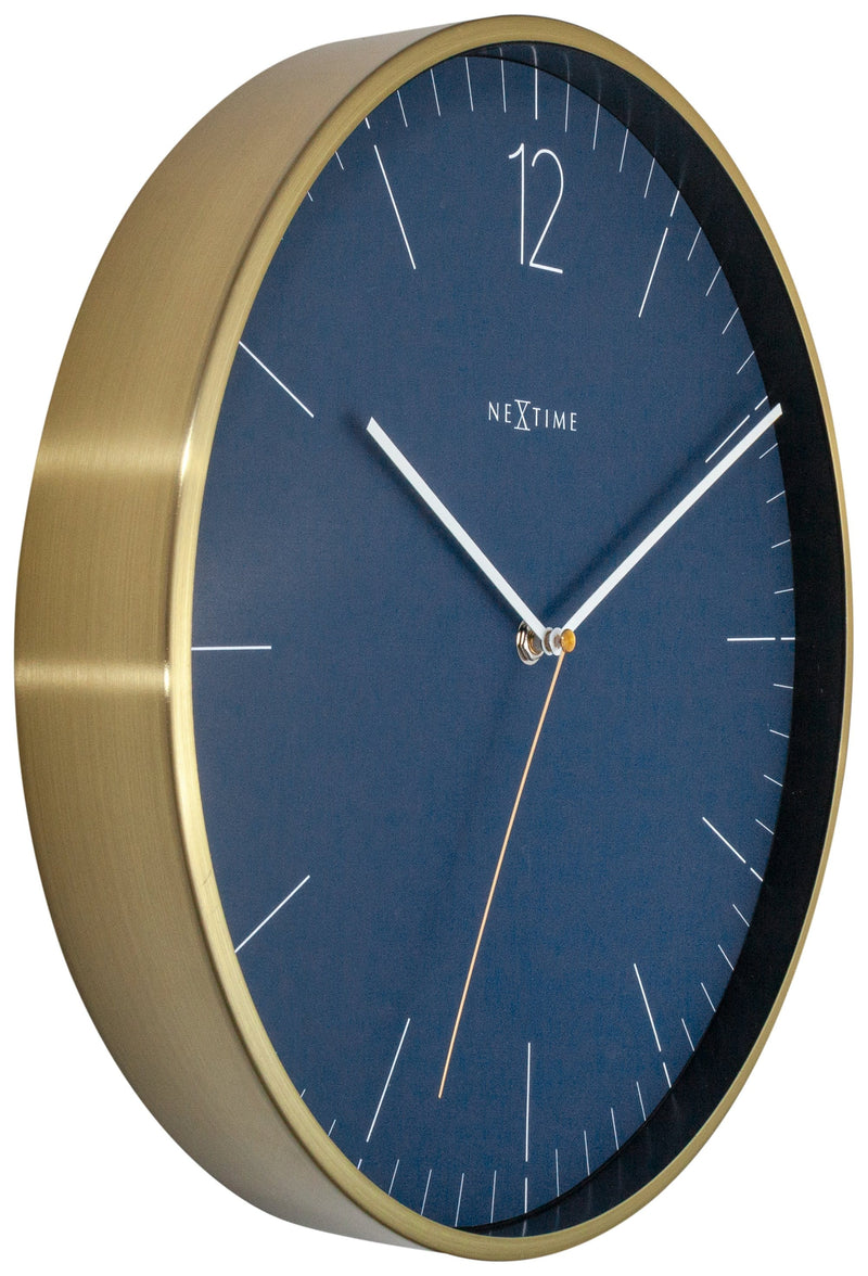 leftside 3252BL,Essential Gold,NeXtime,Metal,Blue,