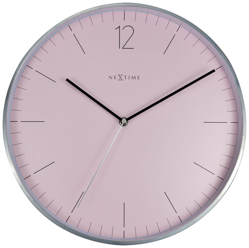 Front Picture 3254RZ,Essential Silver,Wall clock,Metal,White,