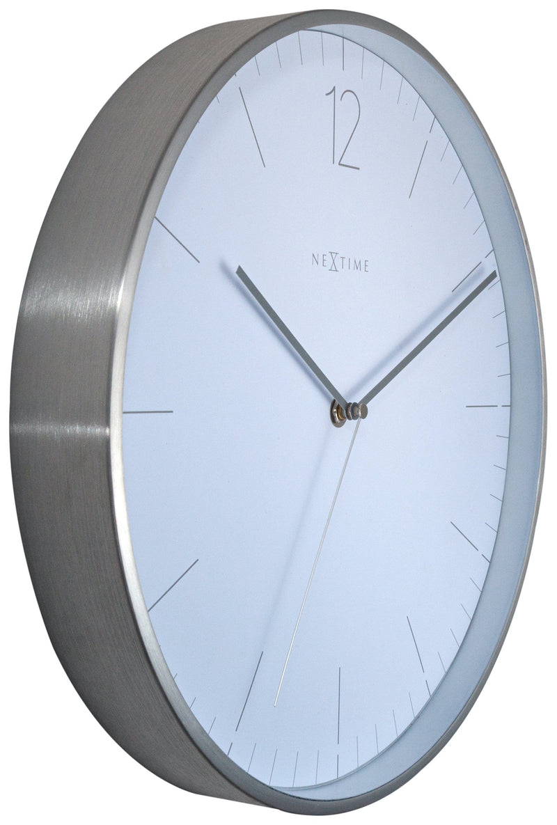 leftside 3254WI,Essential Silver,NeXtime,Metal,White,