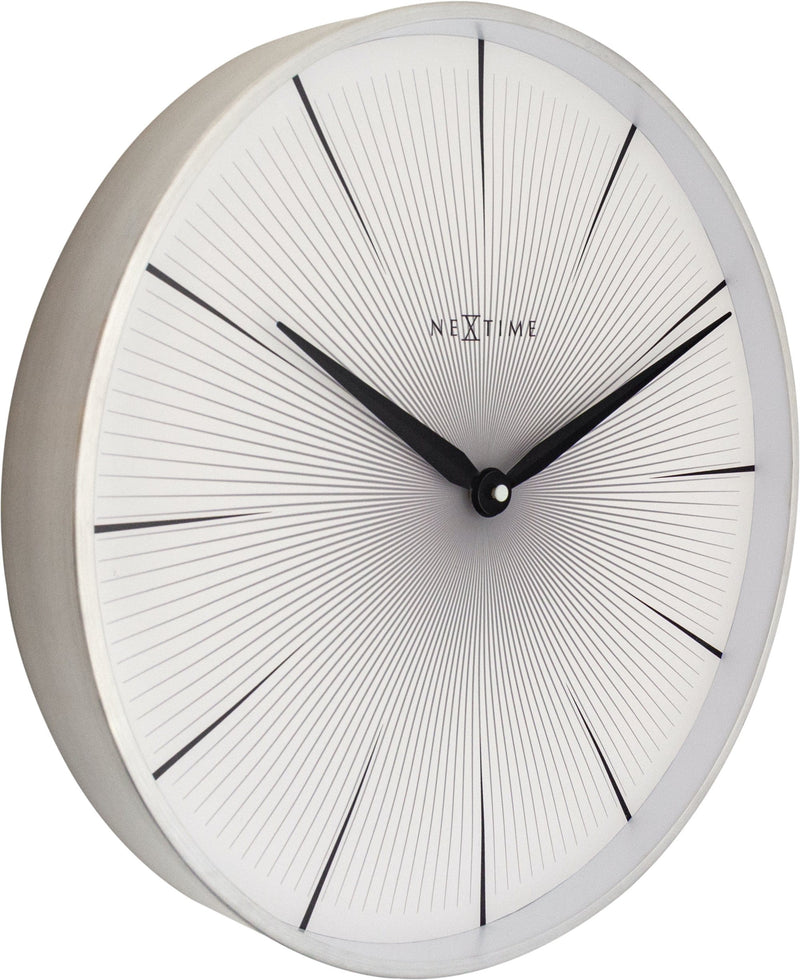 leftside 3511WI,2 Seconds,NeXtime,Aluminium,White,