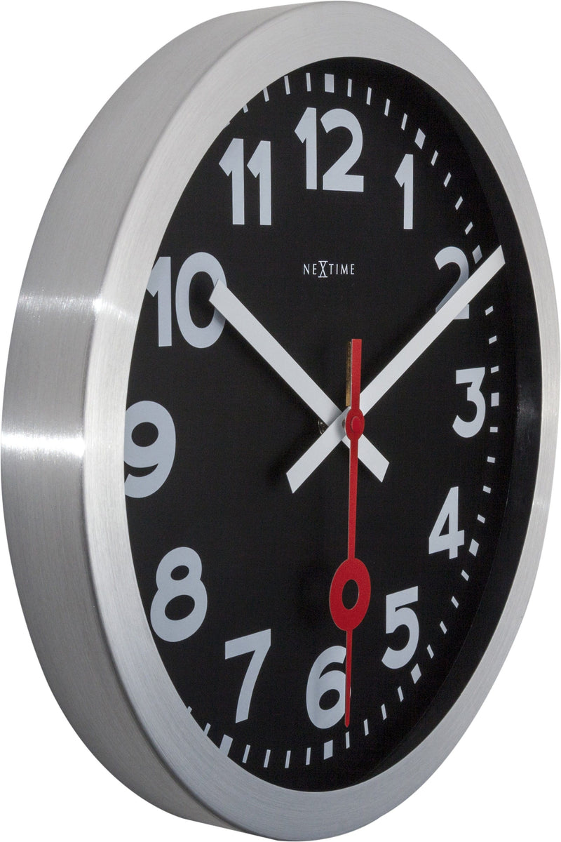 leftside 3999ARZW,Station,NeXtime,Aluminium,Black,