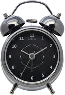 Front Picture 5111ZW,Wake Up,Alarm clock,Silent,Metal,Black