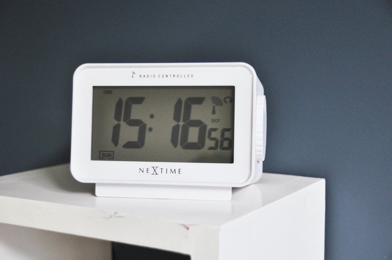 atmosphere 5202WI,Easy Alarm Radio Controlled,NeXtime,Plastic,White