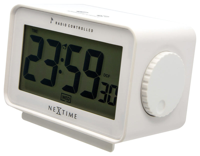 rightside 5202WI,Easy Alarm Radio Controlled,NeXtime,Plastic,White