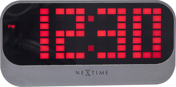 Front Picture 5211RO,Loud Alarm,Alarm clock,LED,ABS,Red,#color_red