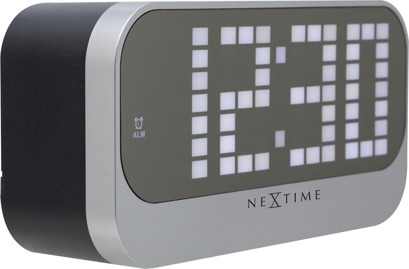 leftside 5211ZW,Loud Alarm,NeXtime,ABS,Black,