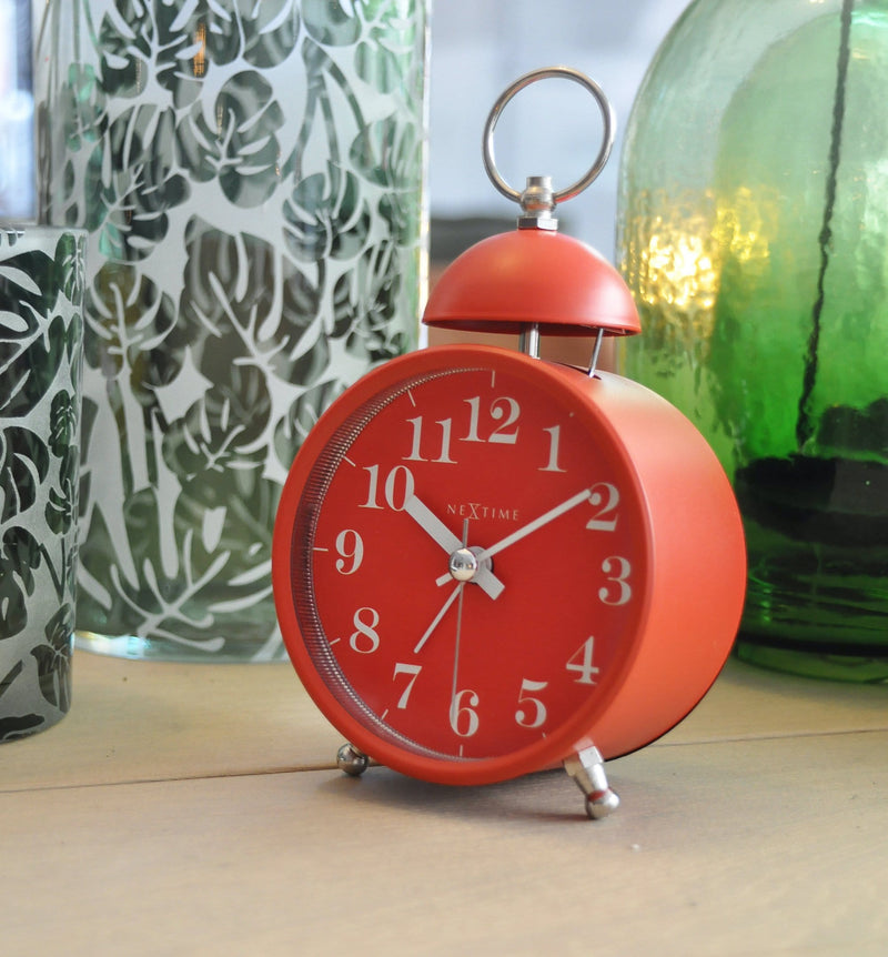 atmosphere 5213RO,Single Bell,NeXtime,Metal,Red,