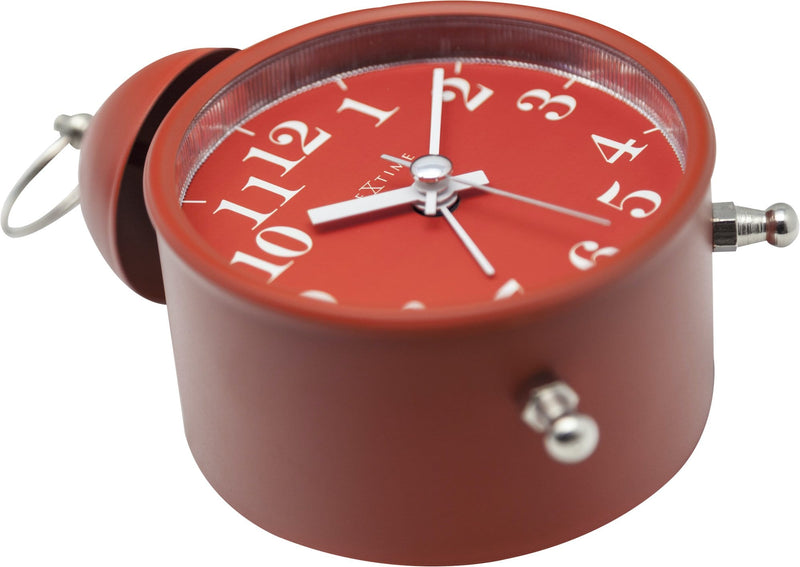 detail 5213RO,Single Bell,NeXtime,Metal,Red,